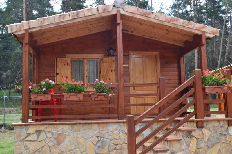 Casas de madera prefabricadas cabanas de madera guadalajara - Casas prefabricadas guadalajara ...